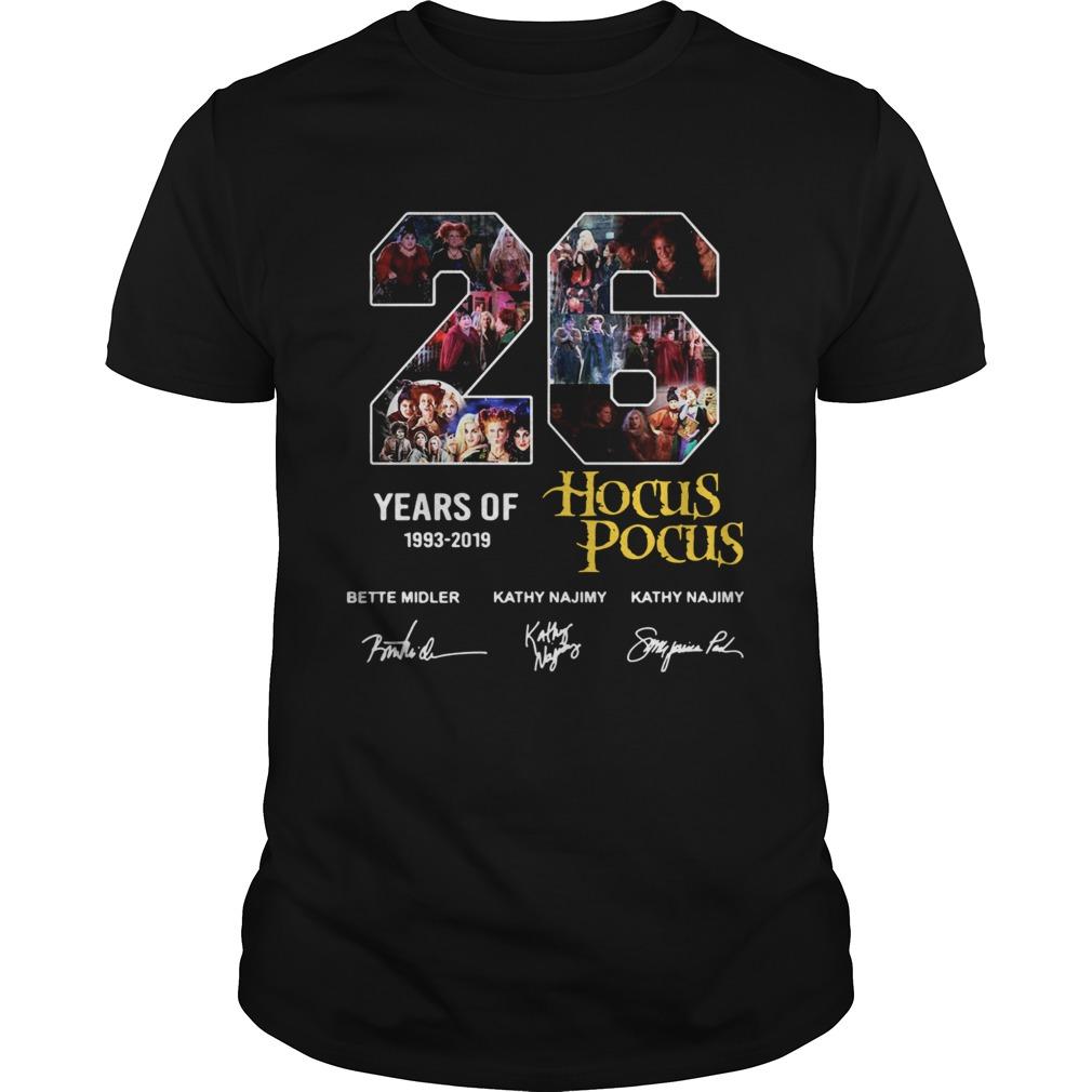 26 Years Of 1993 2019 Hocus Pocus Signature Unisex