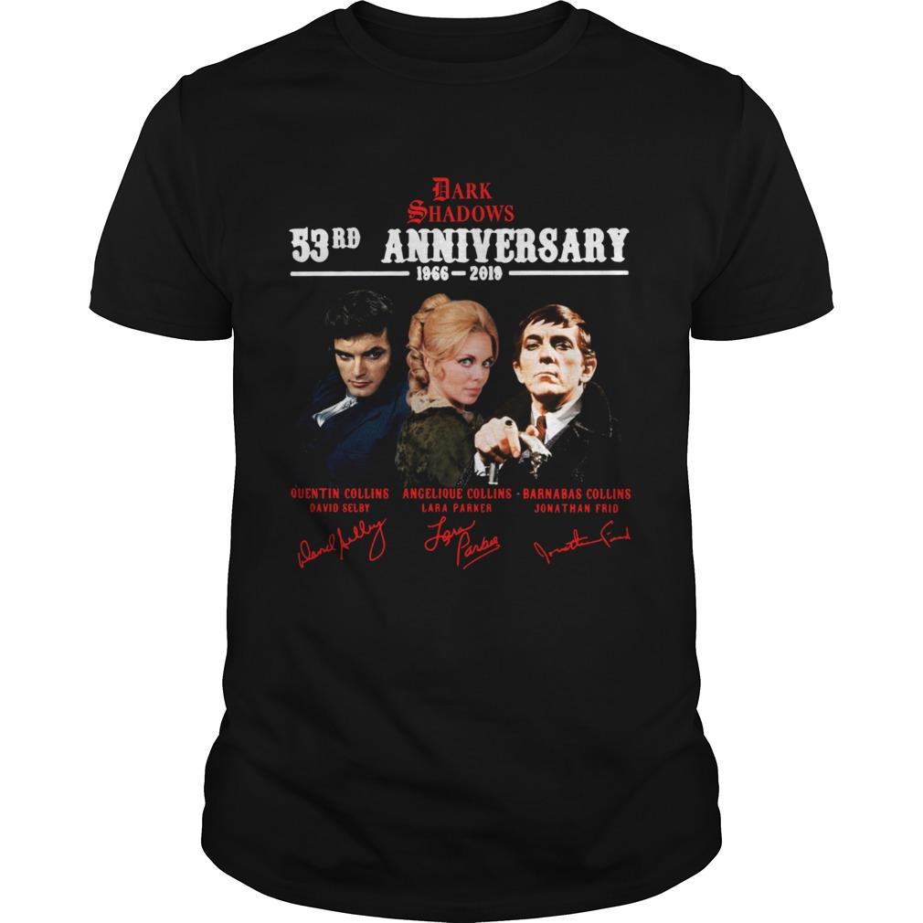 Dark Shadows 53rd Anniversary 1966 2019 Signature Unisex