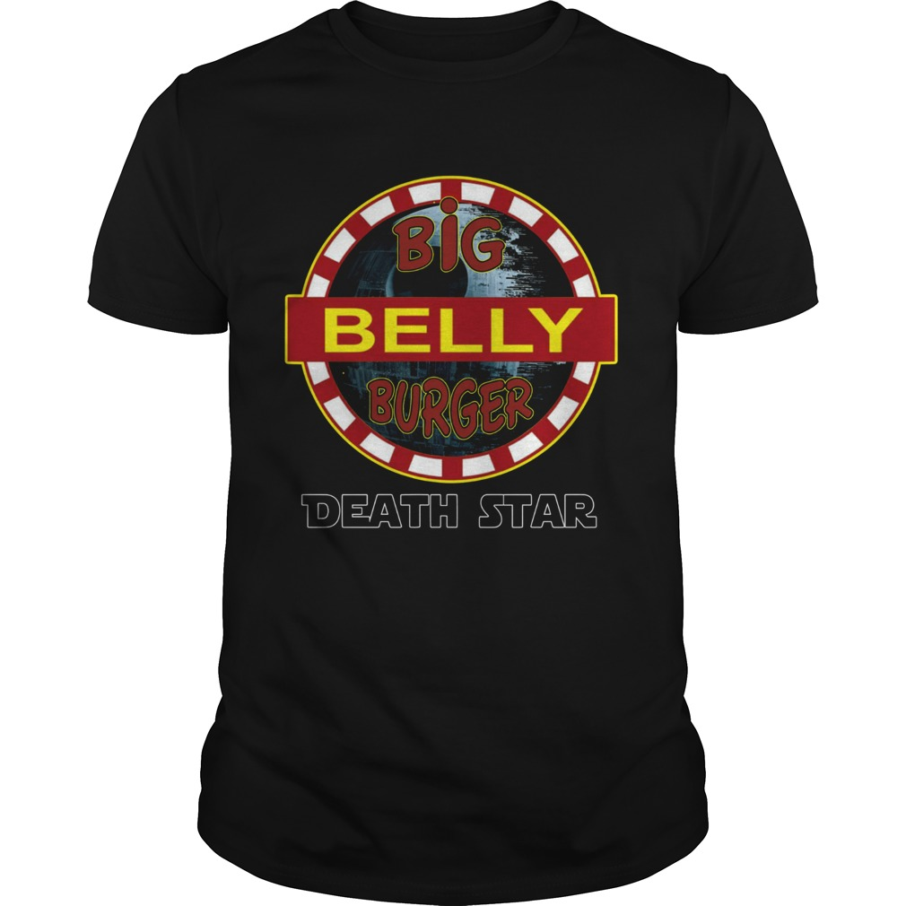 Big Belly Burger Death Star Shirt Unisex