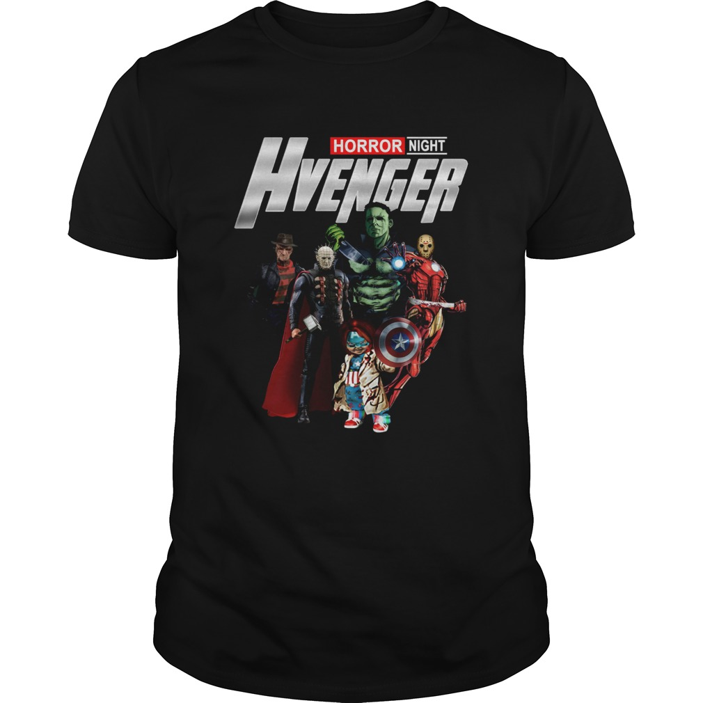 Horror Night Hvenger Avenges Endgame Shirt Unisex