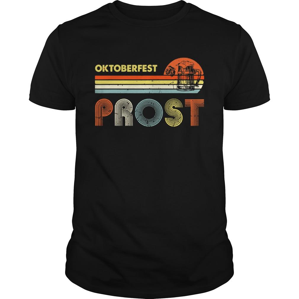 Oktoberfest Prost Vintage Unisex