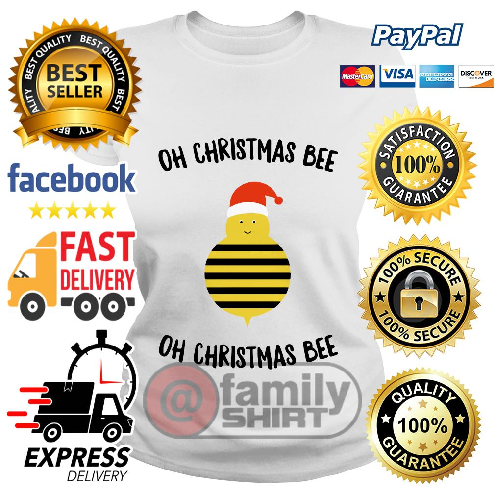 Oh Christmas Bee Oh Christmas Bee Ladies tee