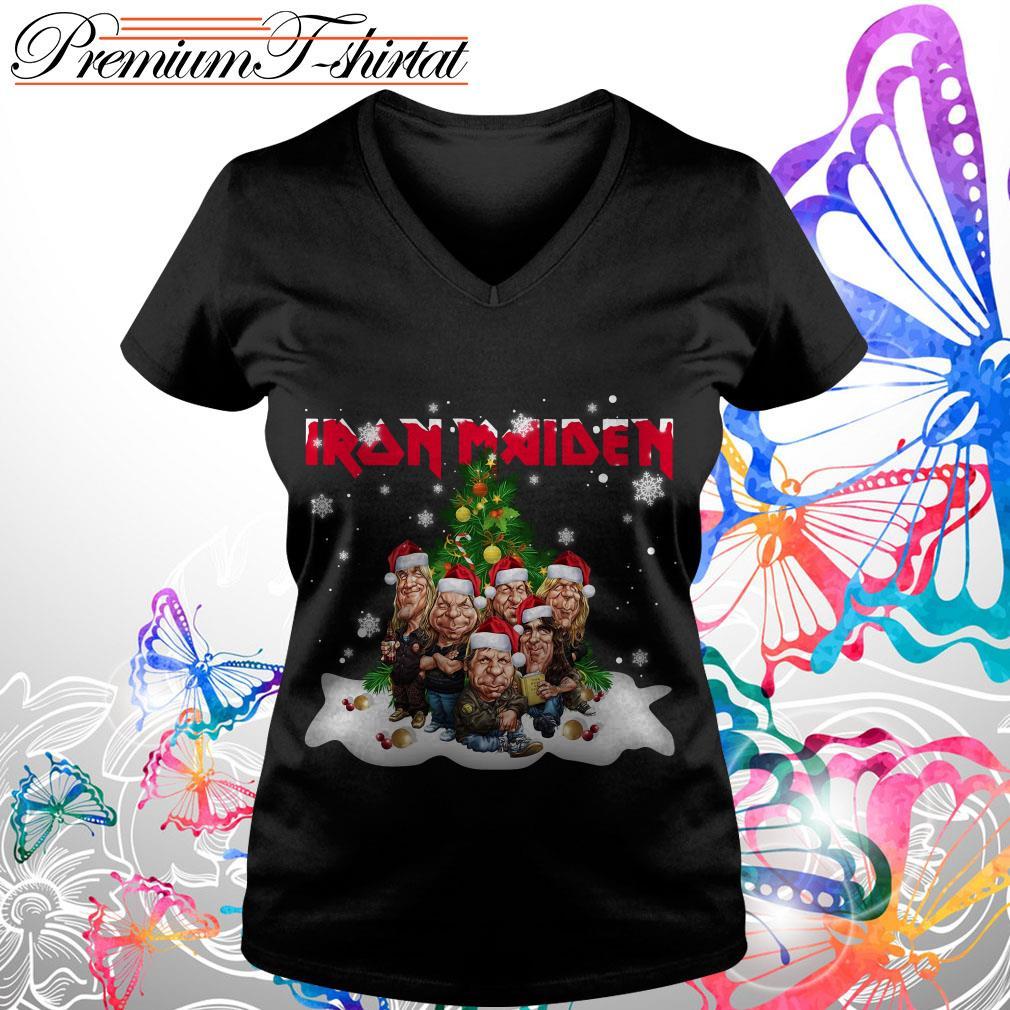 Iron Maiden Christmas Tree Shirt, Sweater