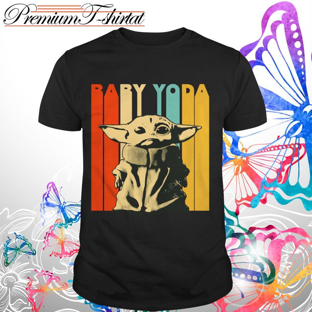 The Mandalorian Baby Yoda Vintage Shirt