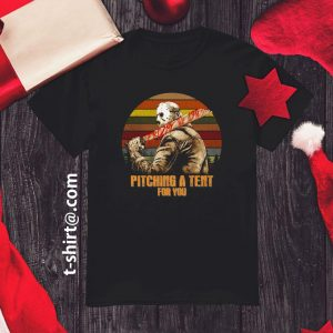 Jason Voorhees Pitching Tent Vintage Shirt
