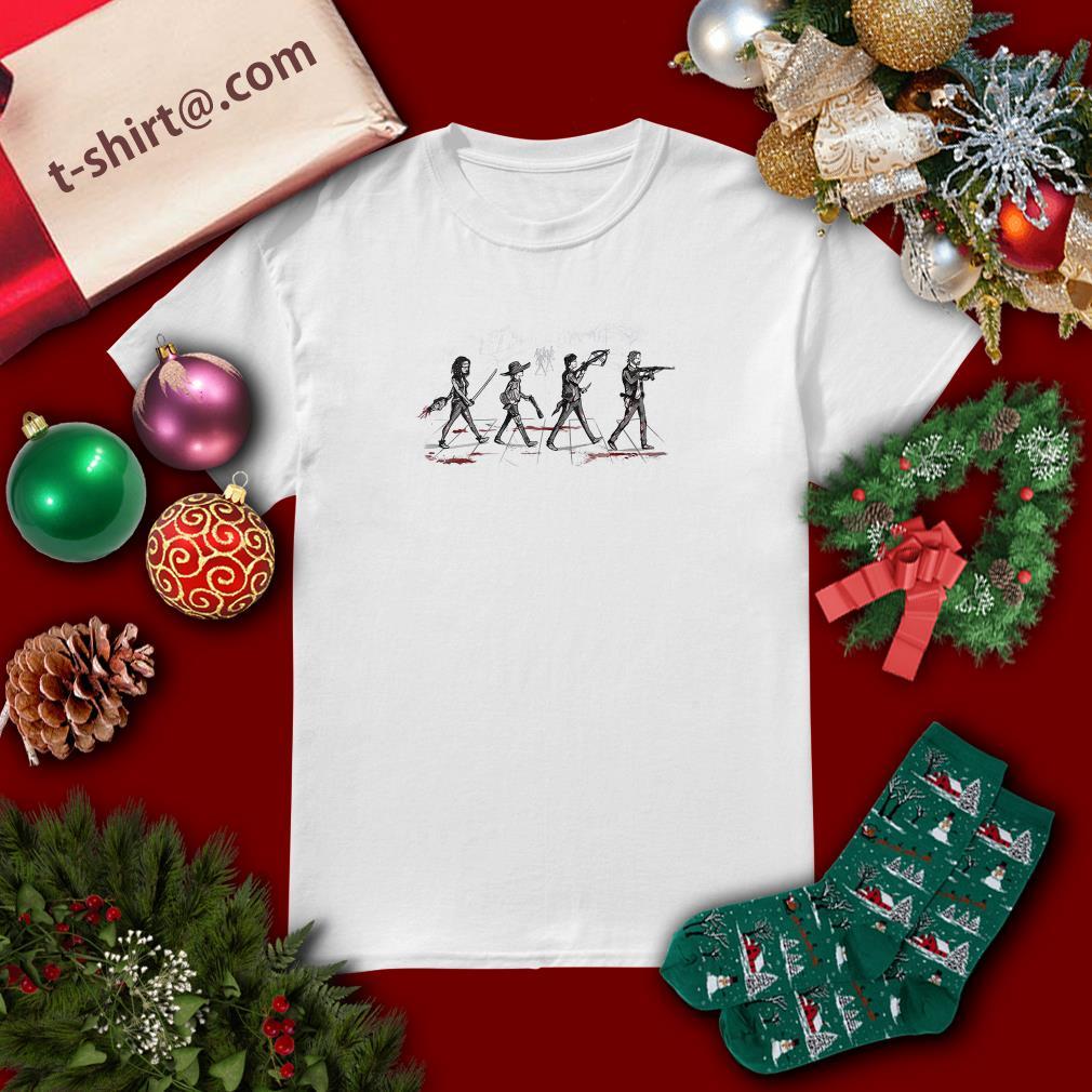 The Walking Dead Abbey Road Shirt