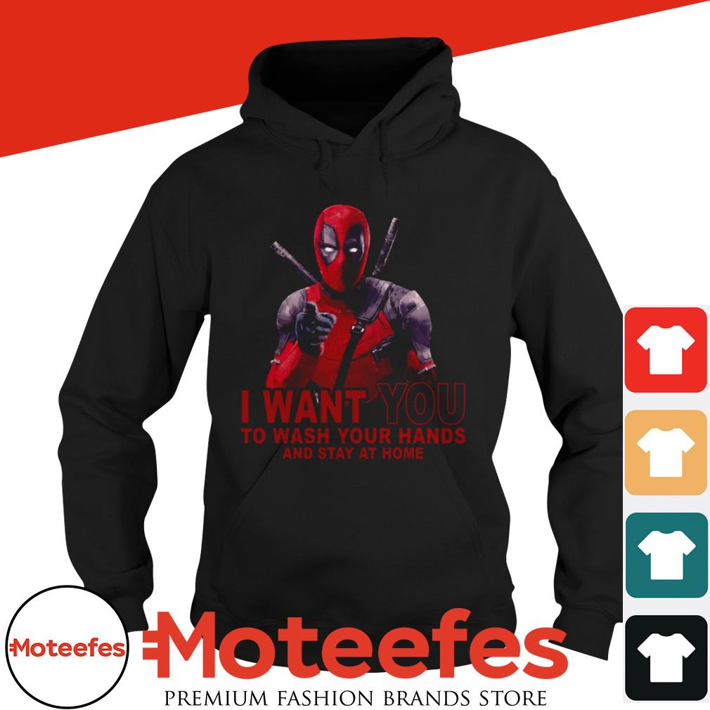 Deadpool I Want You To Wash Your Hands And Stay At Home Corona Virus Shirt