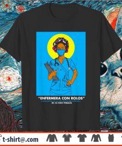 Kelly Ripa Enfermera Con Rolos Shirt